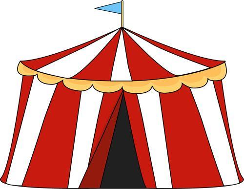 Circus Tent Clip Art Image