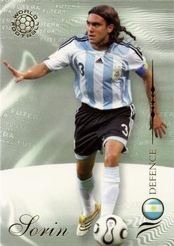 2007 Futera World Football Foil #58 Juan Pablo Sorin Front