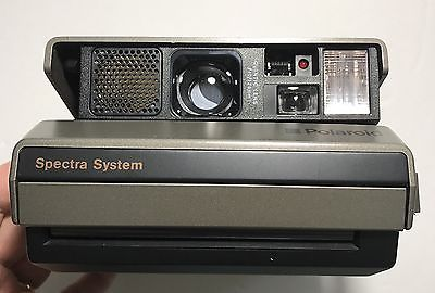 Polaroid Spectra System Quintic Lens f10/125mm & Case UNTESTED