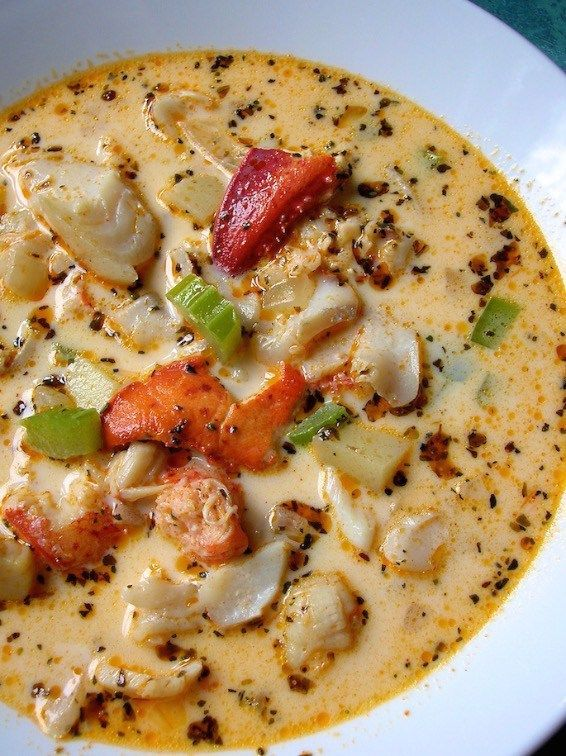 beaucoup seafood chowder | movita beaucoup