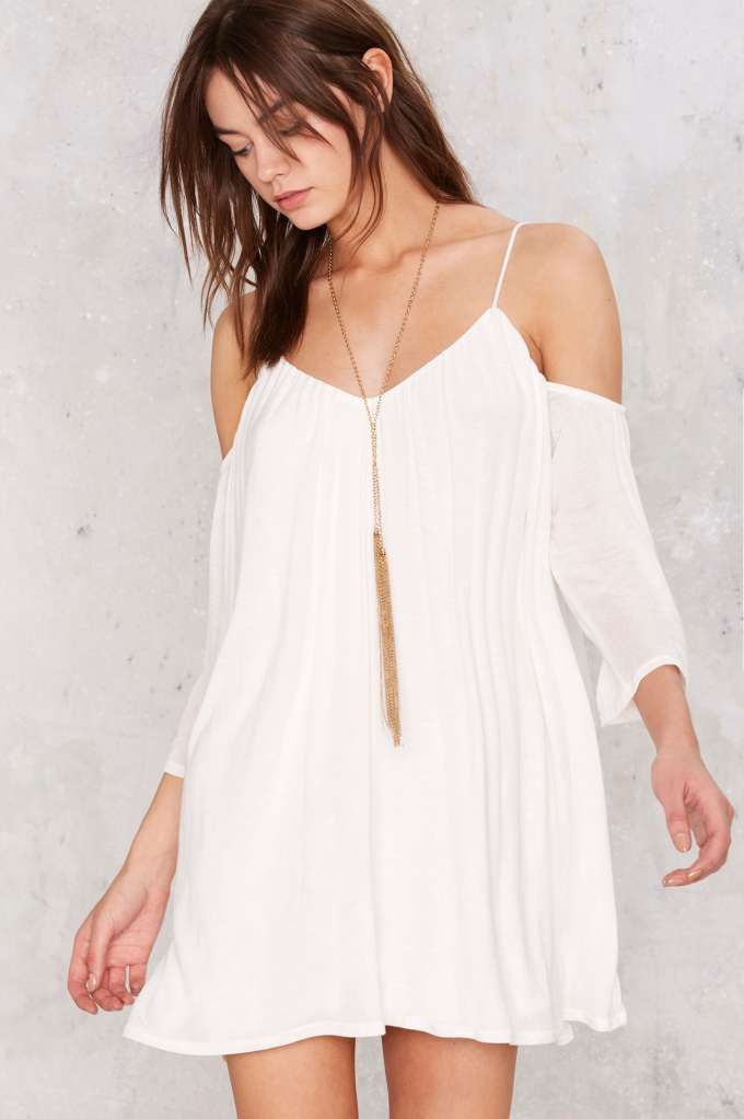 Tessa Cold Shoulder Mini Dress | Shop Clothes at Nasty Gal!