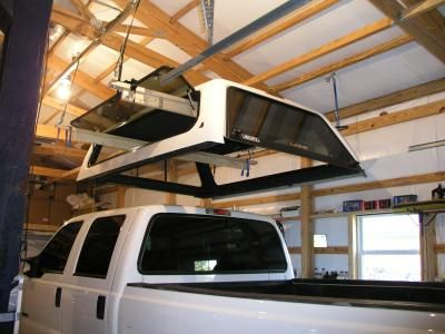 How to safely remove a truck canopy click right now how to safely remove a truck canopy & 10 best Pickup Canopy Lift System images on Pinterest | Canopy ...