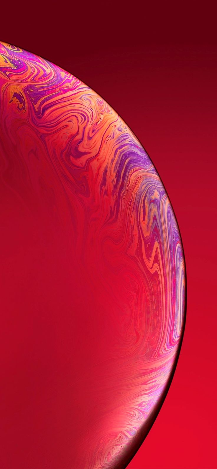 Iphone Xs Wallpaper 4K Red Trick | Iphone red wallpaper ...