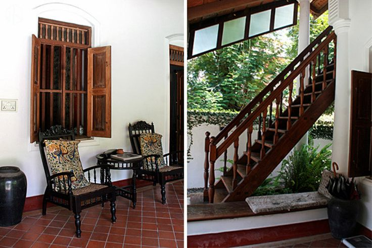 Home Owner: Thora & Faizal Location: Fort Kochi Type: Villa Style: Traditional, Heritage          Determined to the feel of old Indian heritage, Thora and Faizal revamped an old Malayali villa in Fort Kochi with modern amenities. Adding both contemporary and traditional elements, the villa provides privacy, ventilation and natural light all around the property.