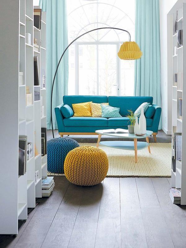 Aprende a #decorar: Ideas para mejorar tu# salón. Te presento estupendas soluciones para distribuir de manera óptima los asientos de tu zona de estar.  #Salon #salones