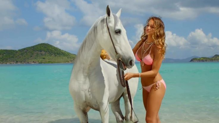 Hannah Davis and Her Horse DIRECTV Commercials Collection