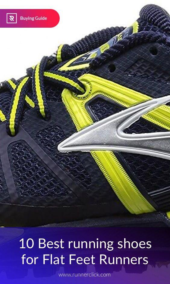10 Best running shoes for Flat Feet Runners