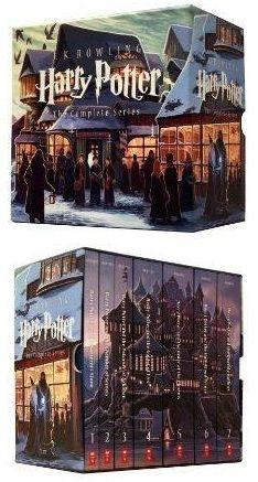 Harry Potter Complete Book Series Special Edition Boxed Set By JK Rowling