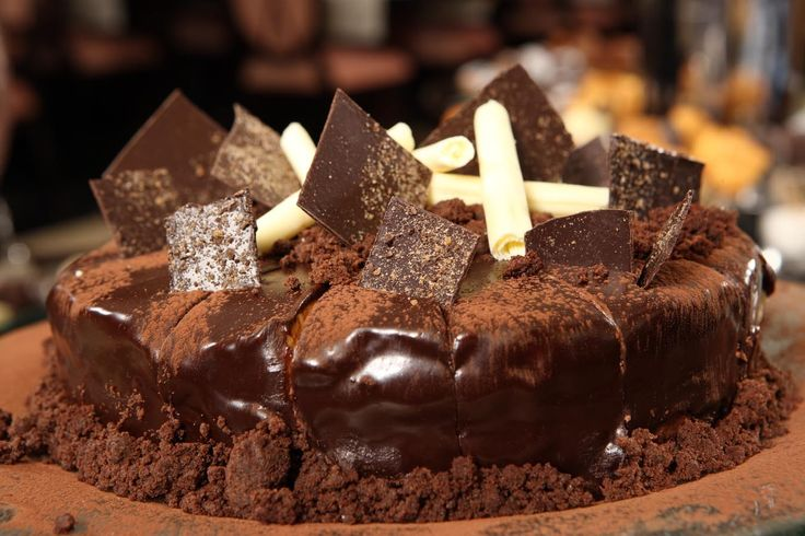#chocolate. #Cake
