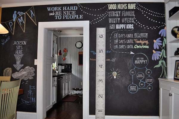 19 best Mur ardoise images on Pinterest Blackboard paint