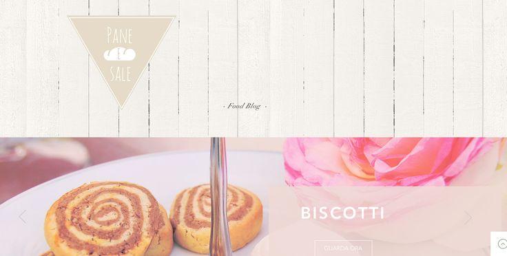 Questo è il mio Blog, PANE e SALE. Il mio blog è Incentrato su una cucina leggera e salutare che ha come elementi di base ingredienti  freschi e di stagione.  VISITATE ED ISCRIVETEVI AL MIO BLOG;  VI ASPETTO !!