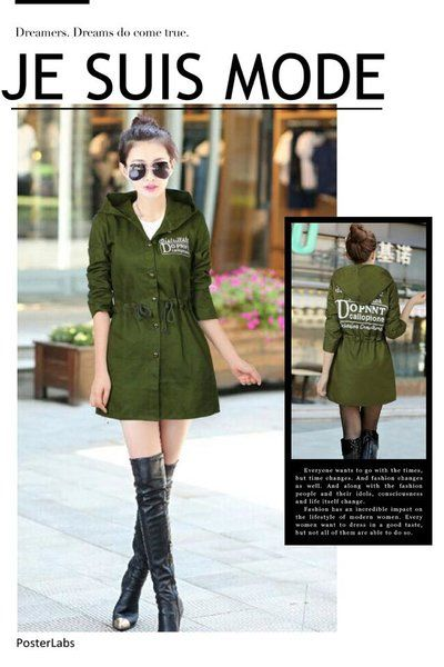 Women Windbreaker Coat | Smartshop WINDBREAKER /MT915 ₱38O.OO Korean windbreaker coat for women hoodies drawstring  colors : Army green, red & black One fits fits small - semi large frame  http://besmartshopphcom.mysimplestore.com/products/windbreaker-mt915