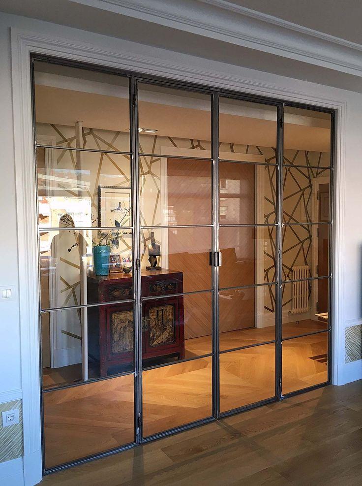 Puertas Acero (Hierro) Ventanas de Aluminio y Pvc Bilbao - Puertas y Barandillas de Acero Inoxidable Vizcaya