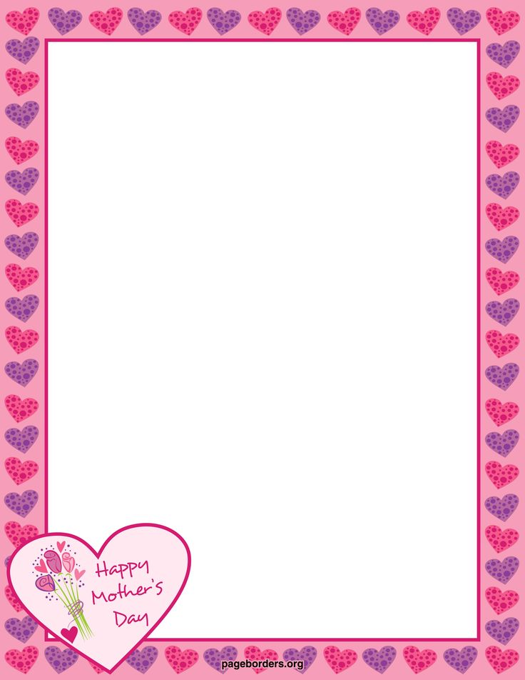 mother 39 s day borders free mother 39 s day border ai eps gif jpg pdf and png downloads. Black Bedroom Furniture Sets. Home Design Ideas
