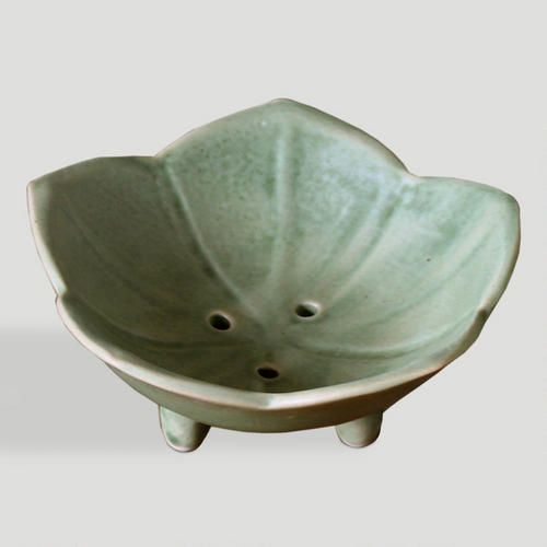 One of my favorite discoveries at WorldMarket.com: Novica 'Lily Pond' Ceramic Soap Dishes, Set of 2