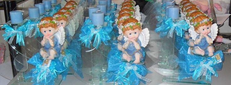 Centros de mesa para bautizo primera comuniob boda y - Centros de mesa para bautizo economicos ...