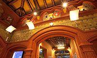 Historyczne wnętrze dworca w Malborku