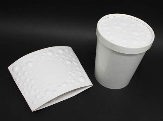 Fibreform Bubble Sleeve and Lid