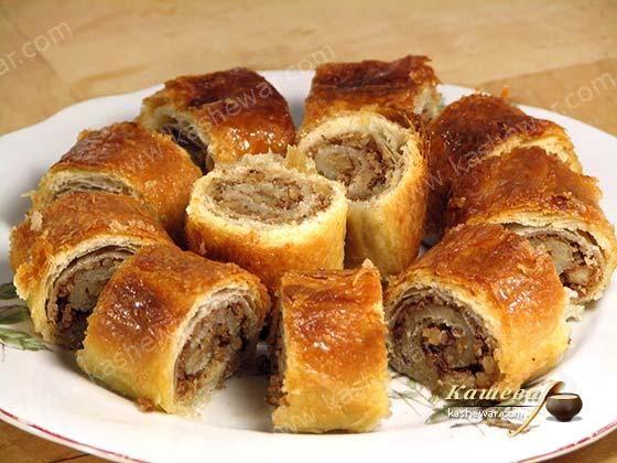 Печенье «Баклава» Болгарская кухня Печенье «Баклава» – рецепт приготовления блюда болгарской кухни, это аналог баклавы, или как мы привыкли ее называть – пахлава. Однако в отличие от пахл…