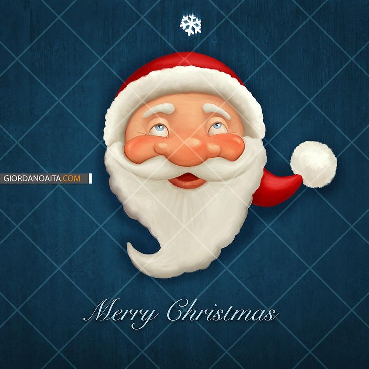 Santa Claus greetings card - © Giordano Aita - All right reserved http://it.fotolia.com/id/28134558