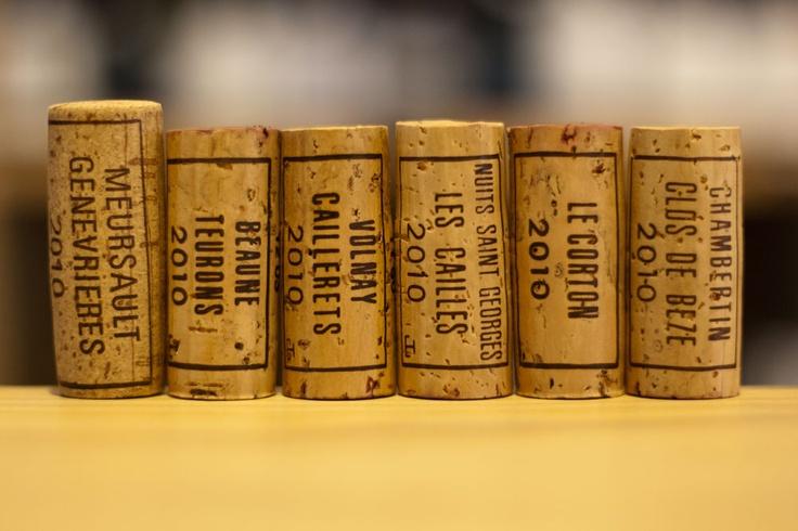 Bouchard Pere & Fils Burgundy corks   www.caros.co.nz