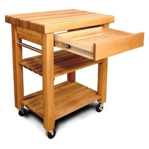 Catskill Craftsmen   French Country Workcenter Small   Bring A Bit Of France  To Your Kitchen With A In. Butcher Block And A Beautiful, Sturdy Wood Body.