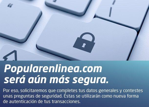 Banco Popular - Internet Banking