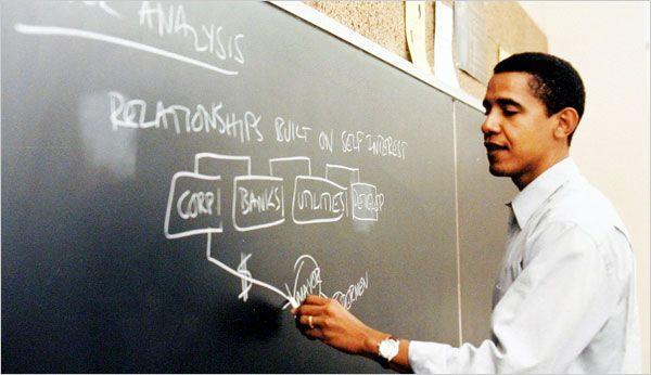 As a Professor, Obama Held Pragmatic Views on Court - NYTimes.com