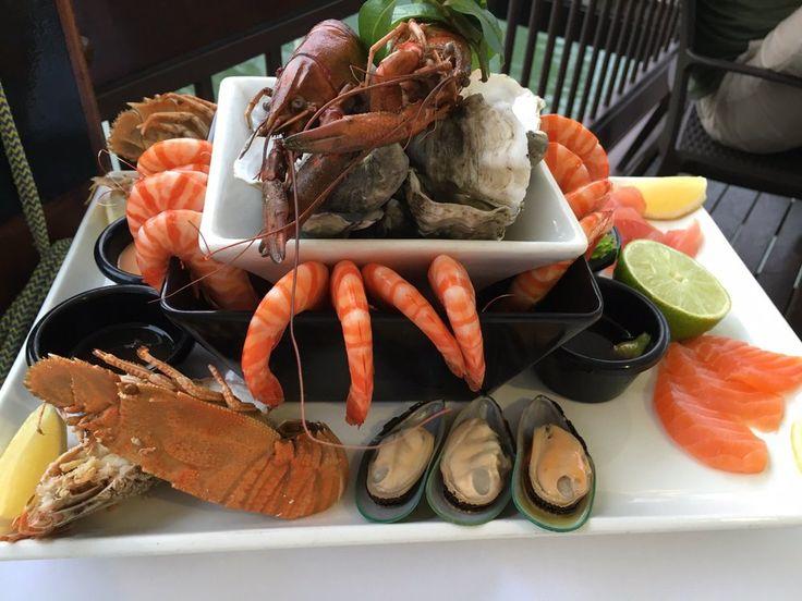 On The Inlet Seafood Restaurant - Port Douglas Queensland, Australia. Seafood for 2