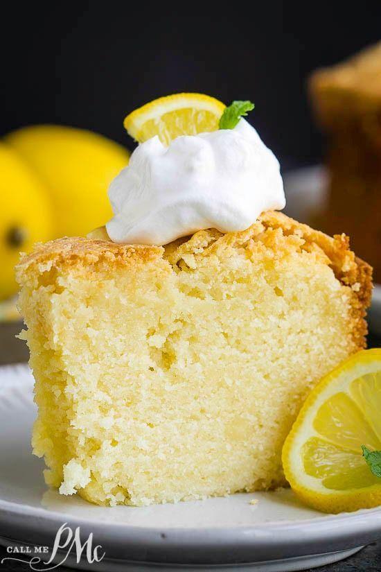 LEMON POUND CAKE .. CAN USE LEMON INSTANT PUDDING OR LEMON ...
