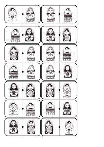 cartes matriochkas pour dominos