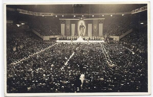 105 best contemporary history images on pinterest - History of madison square garden ...