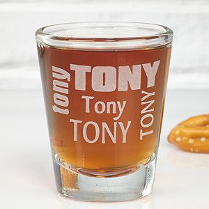 Make their next birthday truly special with the Just For You Personalized Shot Glass. Find the best personalized birthday gifts at PersonalizationMall.com