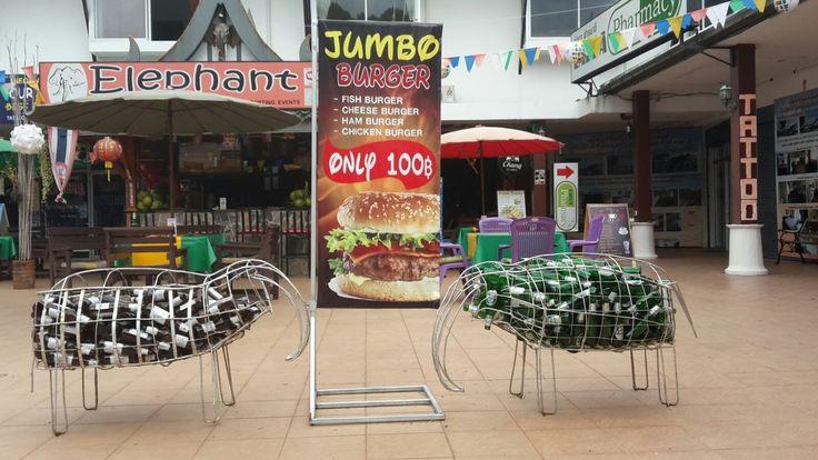 Restaurants - Bars - Strand - Supermarkt - Ban Khao Lak - Khao Lak -Thailand -