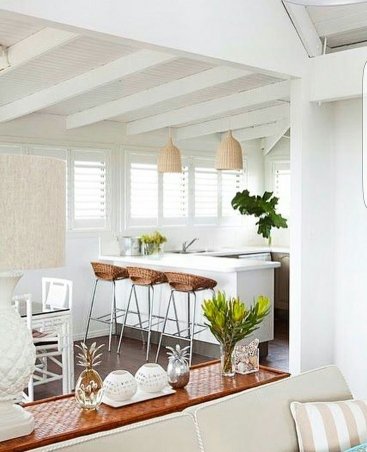 White simple interior