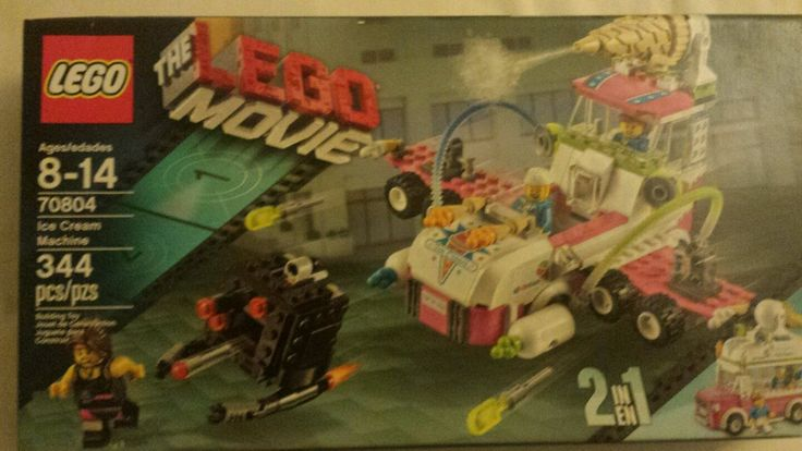 In Sealed Box 2 In 1 LEGO Ice Cream Machine (70804) The Lego Movie Set