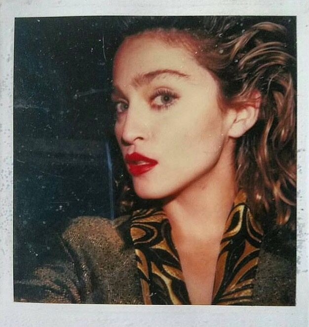 Madonna. Polaroid from Desperately Seeking Susan, 1985