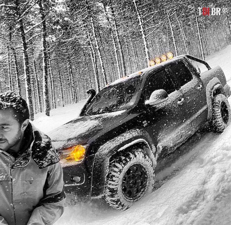 """""""Da série: Brutas na Neve ❄️‼️ Foto enviada pelos parceiros da @delta4x4 """""""