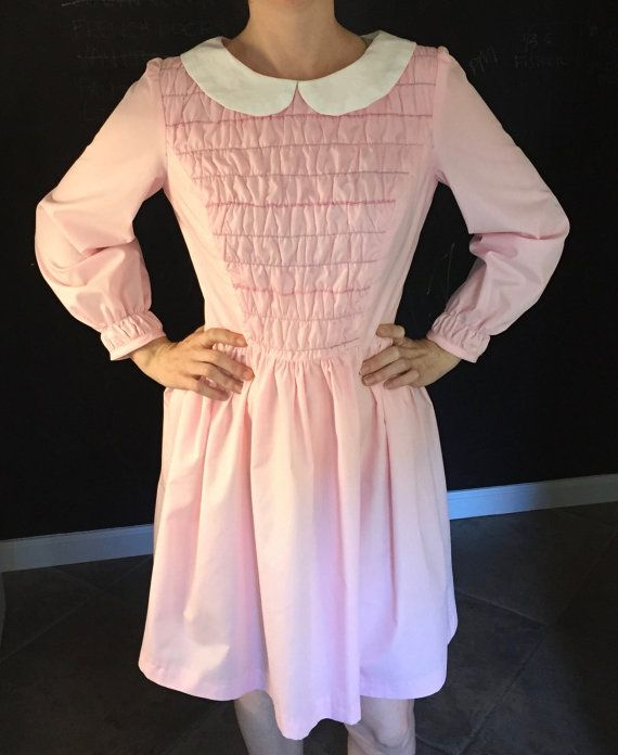 Stranger Things Dress by Eleven 11. Costume. Cosplay. Pattern. littleblacksheepshop.