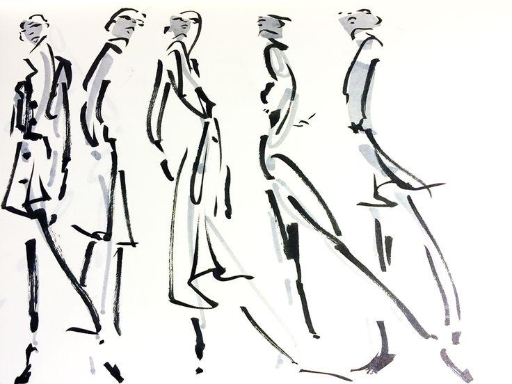 Line Art Illustration Style : 58 best illustration mode images on pinterest fashion drawings