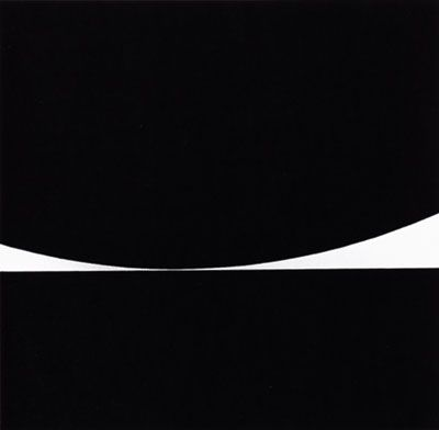 Bridget Riley 1961 Kiss (acrylic)