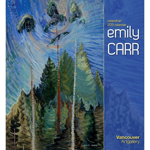 Emily Carr Wall Calendar: Emily Carr's paintings capture the essence of the Pacific Northwest wilderness, exuding the fierce vigor and immediacy of the region's backcountry. Carr (1871 – 1945) was devoted to depicting the forest and the First Nations culture.  $13.99  http://calendars.com/Contemporary-Art/Emily-Carr-2013-Wall-Calendar/prod201300002069/?categoryId=cat00009=cat00009#