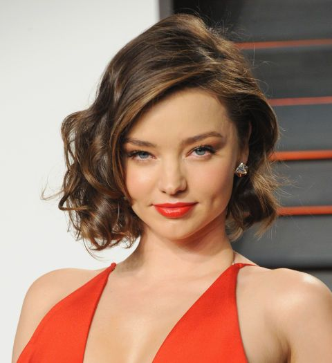 17 short haircut pictures to inspire your next visit to the hair salon: Miranda Kerr's tousled bob