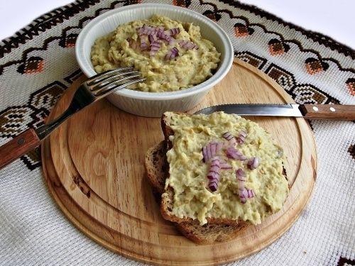 Salata de vinete cu usturoi copt - imagine 1 mare
