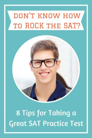 Planning to take an SAT practice test? Here are 8 tips to help you rock the practice exam, plus links to a free SAT practice test! #HigherScores http://www.higherscorestestprep.com/sat-practice-test/