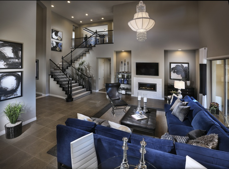 47 best images about lennar great rooms on pinterest for Model home living room