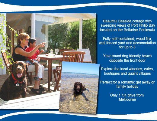 Dog Friendly Holidays | Bellarine Peninsula Accommodation | Pet Friendly Holidays