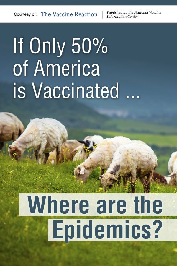 If we look back over the decades and note the lack of rampant epidemics in our nation, while remembering that vaccine protection is in perpetual decline, the myth of herd immunity quickly unravels.