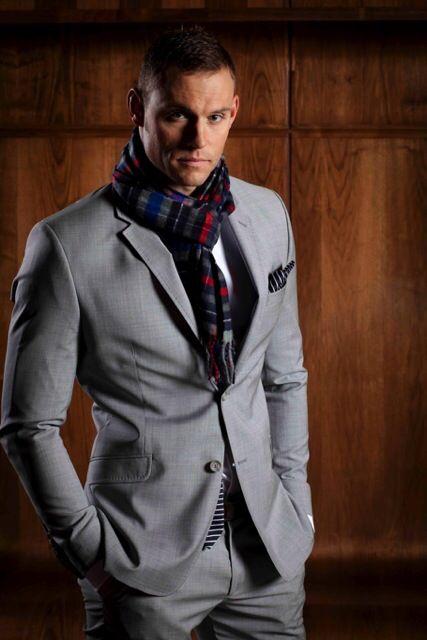 Perfectly fitting Grey Suit....Super Stylish!!!  wwww.zedmenswear.co.za