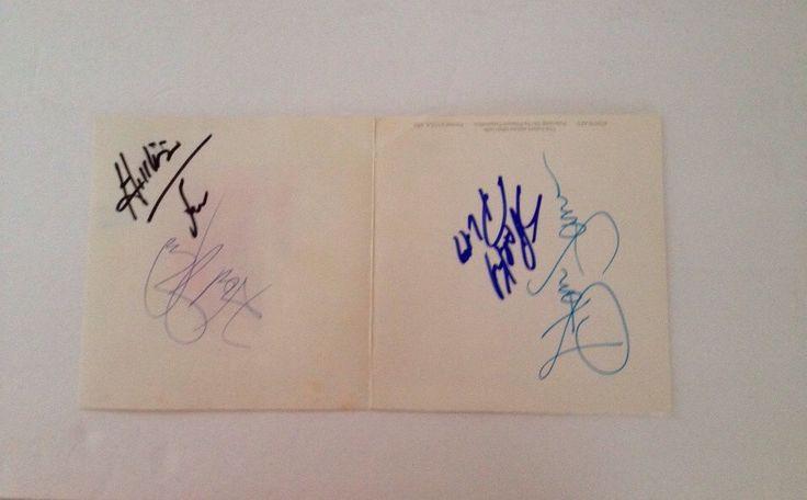 #WWE #WWF #Wrestling #Wrestle #Wrestlers #HotStuff #HillybillyJim #SparkyPlugg #StanLane #Autographs #Signature